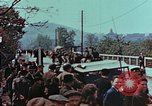 Image of German troops marching to surrender to Western Allies Pilsen Czechoslovakia, 1945, second 53 stock footage video 65675055608