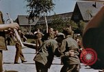 Image of Victory in Europe Day celebration Germany, 1945, second 52 stock footage video 65675055962