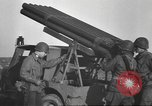 Image of test rocket launcher Alsace France, 1944, second 43 stock footage video 65675057851