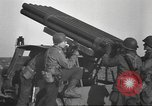 Image of test rocket launcher Alsace France, 1944, second 47 stock footage video 65675057851