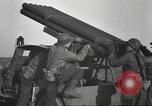 Image of test rocket launcher Alsace France, 1944, second 50 stock footage video 65675057851