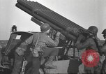 Image of test rocket launcher Alsace France, 1944, second 53 stock footage video 65675057851