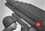 Image of test rocket launcher Alsace France, 1944, second 62 stock footage video 65675057851