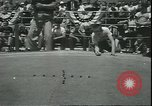 Image of marble game Asbury Park New Jersey USA, 1950, second 6 stock footage video 65675058227