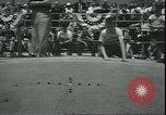 Image of marble game Asbury Park New Jersey USA, 1950, second 7 stock footage video 65675058227