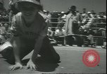 Image of marble game Asbury Park New Jersey USA, 1950, second 17 stock footage video 65675058227