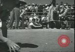 Image of marble game Asbury Park New Jersey USA, 1950, second 20 stock footage video 65675058227