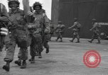 Image of 502nd Parachute Infantry Regiment, 101st Airborne Division England United Kingdom, 1944, second 13 stock footage video 65675058878