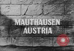 Image of Mauthausen Concentration Camp Austria, 1945, second 4 stock footage video 65675060581