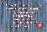 Image of Burma Road China, 1941, second 4 stock footage video 65675060841