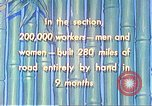 Image of Burma Road China, 1941, second 53 stock footage video 65675060841
