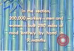 Image of Burma Road China, 1941, second 55 stock footage video 65675060841