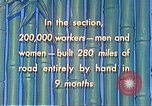 Image of Burma Road China, 1941, second 58 stock footage video 65675060841