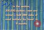 Image of Burma Road China, 1941, second 59 stock footage video 65675060841