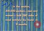 Image of Burma Road China, 1941, second 60 stock footage video 65675060841