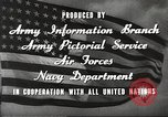 Image of animation United States USA, 1945, second 11 stock footage video 65675060883