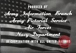 Image of animation United States USA, 1945, second 13 stock footage video 65675060883