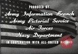 Image of animation United States USA, 1945, second 17 stock footage video 65675060883