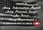 Image of animation United States USA, 1945, second 18 stock footage video 65675060883