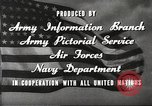 Image of animation United States USA, 1945, second 19 stock footage video 65675060883