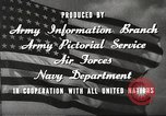 Image of animation United States USA, 1945, second 20 stock footage video 65675060883