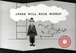 Image of Animated anti-Japan propaganda in World War 22 United States USA, 1945, second 57 stock footage video 65675060884