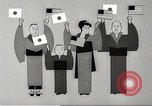 Image of animated cartoon about American support to Japan in 1923 United States USA, 1945, second 49 stock footage video 65675060885
