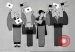 Image of animated cartoon about American support to Japan in 1923 United States USA, 1945, second 50 stock footage video 65675060885