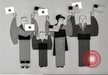 Image of animated cartoon about American support to Japan in 1923 United States USA, 1945, second 51 stock footage video 65675060885
