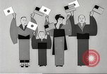 Image of animated cartoon about American support to Japan in 1923 United States USA, 1945, second 52 stock footage video 65675060885