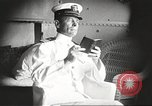 Image of Civilian businessmen and officials pose with Naval officers aboard ship Virginia United States USA, 1925, second 2 stock footage video 65675060899