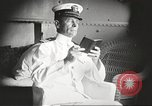 Image of Civilian businessmen and officials pose with Naval officers aboard ship Virginia United States USA, 1925, second 3 stock footage video 65675060899