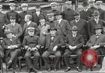 Image of Civilian businessmen and officials pose with Naval officers aboard ship Virginia United States USA, 1925, second 25 stock footage video 65675060899