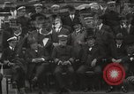 Image of Civilian businessmen and officials pose with Naval officers aboard ship Virginia United States USA, 1925, second 31 stock footage video 65675060899