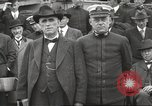 Image of Civilian businessmen and officials pose with Naval officers aboard ship Virginia United States USA, 1925, second 33 stock footage video 65675060899
