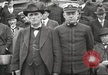 Image of Civilian businessmen and officials pose with Naval officers aboard ship Virginia United States USA, 1925, second 34 stock footage video 65675060899