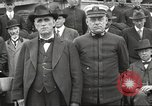 Image of Civilian businessmen and officials pose with Naval officers aboard ship Virginia United States USA, 1925, second 41 stock footage video 65675060899
