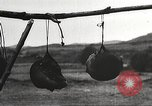 Image of heads of executed marauders Manchuria China, 1930, second 38 stock footage video 65675060902