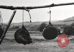 Image of heads of executed marauders Manchuria China, 1930, second 40 stock footage video 65675060902