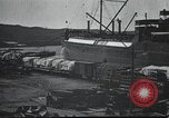 Image of US Army guarding supply ship in Siberia Soviet Russia World War 1 Siberia Soviet Union, 1918, second 4 stock footage video 65675060926