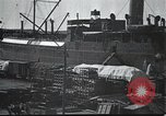 Image of US Army guarding supply ship in Siberia Soviet Russia World War 1 Siberia Soviet Union, 1918, second 6 stock footage video 65675060926
