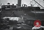 Image of US Army guarding supply ship in Siberia Soviet Russia World War 1 Siberia Soviet Union, 1918, second 8 stock footage video 65675060926