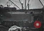 Image of US Army guarding supply ship in Siberia Soviet Russia World War 1 Siberia Soviet Union, 1918, second 10 stock footage video 65675060926