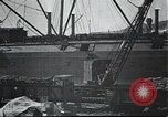 Image of US Army guarding supply ship in Siberia Soviet Russia World War 1 Siberia Soviet Union, 1918, second 11 stock footage video 65675060926