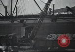 Image of US Army guarding supply ship in Siberia Soviet Russia World War 1 Siberia Soviet Union, 1918, second 12 stock footage video 65675060926