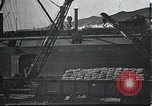 Image of US Army guarding supply ship in Siberia Soviet Russia World War 1 Siberia Soviet Union, 1918, second 13 stock footage video 65675060926