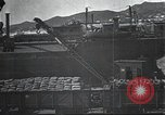 Image of US Army guarding supply ship in Siberia Soviet Russia World War 1 Siberia Soviet Union, 1918, second 15 stock footage video 65675060926