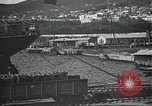 Image of US Army guarding supply ship in Siberia Soviet Russia World War 1 Siberia Soviet Union, 1918, second 20 stock footage video 65675060926
