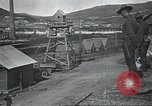 Image of US Army guarding supply ship in Siberia Soviet Russia World War 1 Siberia Soviet Union, 1918, second 30 stock footage video 65675060926