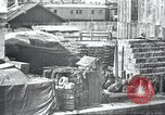 Image of US Army guarding supply ship in Siberia Soviet Russia World War 1 Siberia Soviet Union, 1918, second 36 stock footage video 65675060926